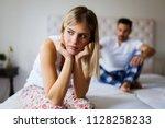young unhappy couple having...   Shutterstock . vector #1128258233