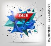 super sale poster  banner. big...   Shutterstock .eps vector #1128265019