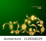 abstract background with... | Shutterstock .eps vector #1128268229