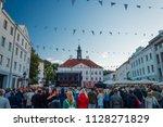 tartu  estonia   june 29  2018  ... | Shutterstock . vector #1128271829
