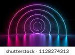 3d rendering of ultraviolet... | Shutterstock . vector #1128274313