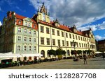wroclaw poland   2 july 2018 ... | Shutterstock . vector #1128287708