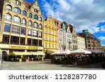 wroclaw poland   2 july 2018 ... | Shutterstock . vector #1128287780