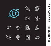 trade icons set. business...