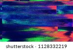 unique design abstract digital... | Shutterstock . vector #1128332219