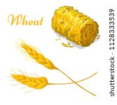 Vector Wheat Icon. Isolated...