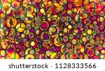 multicolored abstract of... | Shutterstock . vector #1128333566