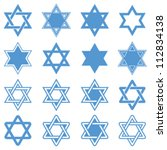 Star Of David. Vector...