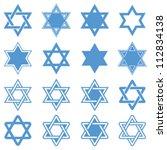 Star Of David. Vector...
