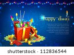 illustration of colorful... | Shutterstock .eps vector #112836544