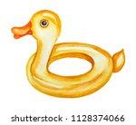 Yellow Duck Inflatable Pool...