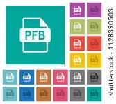 pfb file format multi colored...