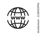 website vector icon