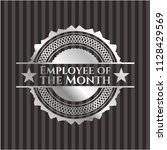 employee of the month silver... | Shutterstock .eps vector #1128429569