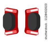 skateboarding  bicycle  roller... | Shutterstock .eps vector #1128432023