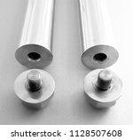 spikes chain balls nunchaku... | Shutterstock . vector #1128507608
