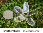 tumbled citrine  happy crystals.... | Shutterstock . vector #1128508649