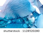 hand painted ink texture.... | Shutterstock . vector #1128520280