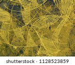 abstract painting on canvas.... | Shutterstock . vector #1128523859