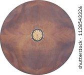 circle crotch mahogany wood... | Shutterstock . vector #1128543326