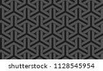 art deco wallpaper pattern.... | Shutterstock . vector #1128545954