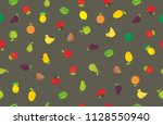 smooth pattern with yellow... | Shutterstock . vector #1128550940