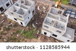 home building with precast... | Shutterstock . vector #1128585944