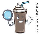 detective ice chocolate... | Shutterstock .eps vector #1128594194