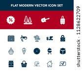 modern  simple vector icon set...   Shutterstock .eps vector #1128622709
