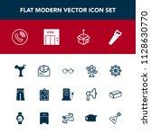 modern  simple vector icon set...   Shutterstock .eps vector #1128630770