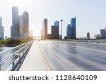 urban road transportation and... | Shutterstock . vector #1128640109