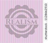 realism vintage pink emblem | Shutterstock .eps vector #1128662510