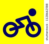bicycle vector icon  vector... | Shutterstock .eps vector #1128662588