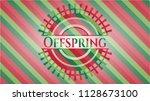 offspring christmas emblem...   Shutterstock .eps vector #1128673100