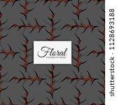 flower illustration pattern....   Shutterstock .eps vector #1128693188