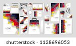 vector set kit collection... | Shutterstock .eps vector #1128696053
