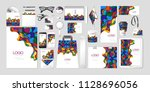 vector set kit collection... | Shutterstock .eps vector #1128696056