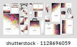 vector set kit collection... | Shutterstock .eps vector #1128696059