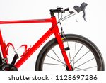 cycling sport concepts. closeup ... | Shutterstock . vector #1128697286