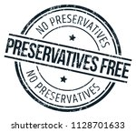 preservatives free stamp | Shutterstock .eps vector #1128701633