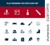 modern  simple vector icon set... | Shutterstock .eps vector #1128715970