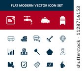 modern  simple vector icon set...   Shutterstock .eps vector #1128716153