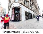 new york city  usa   april 7 ...   Shutterstock . vector #1128727733