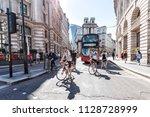 london  uk   june 26  2018 ... | Shutterstock . vector #1128728999