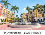 naples  usa   april 30  2018 ... | Shutterstock . vector #1128745016