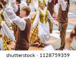 kaunas  lithuania   june 30 ... | Shutterstock . vector #1128759359