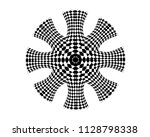 abstract eight directional...   Shutterstock . vector #1128798338