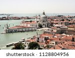 an aerial view of venice taken... | Shutterstock . vector #1128804956