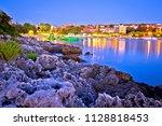 pjescana uvala tourist village...   Shutterstock . vector #1128818453