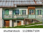 old houses in fontanazzo di... | Shutterstock . vector #1128867104